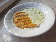 Habverő és fakanál: Cukkini főzelék curry fűszeres csirkemell