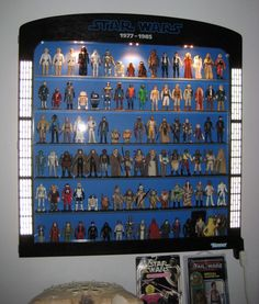 star wars action figures display - Buscar con Google