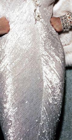 Bob Mackie details on Madonna Oscar gown
