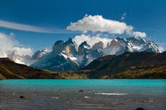 Un paesaggio della Patagonia
