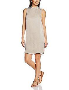 10, Brown - Braun (String 5160), Saint Tropez Women's N1825 Dress NEW
