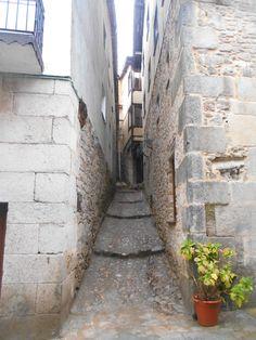Callejon lateral a la calle Miguel Angel Maillo.
