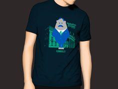 Mens James Connolly GPO Character T-Shirt Navy shirts Navy, Illustration, Mens Tops, T Shirt, Character, Fashion, Hale Navy, Supreme T Shirt, Moda