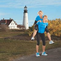 Doing it in the cold... These two women inspire me to lace up my shoes, and go outside to run despite the cold!