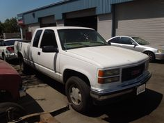 Our old GMC truck!