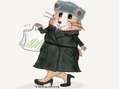 TheRoyalHamster heads home from Sunday service! *swings by @waitrose for some chicken soup* *hustles to catch up with HM the Queen*The Royal Hamster (@theroyalhamster) | Twitter