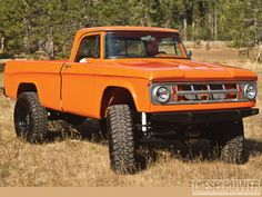 "'68 Dodge W200 4x4 truck  when dodge was the ""tuff"" truck !!!"