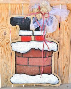 Suspensión de puerta Santa arpillera