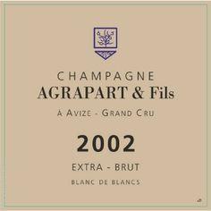 Champagne Agrapart Blanc de Blancs Grand Cru Extra Brut 2002