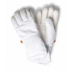 Bogner Inga Womens Ski Glove in White Women's Ski Gloves, Ski Hats, Ski Accessories, Womens Ski, Ski Socks, Best Skis, Skiing, White Stone, Winter
