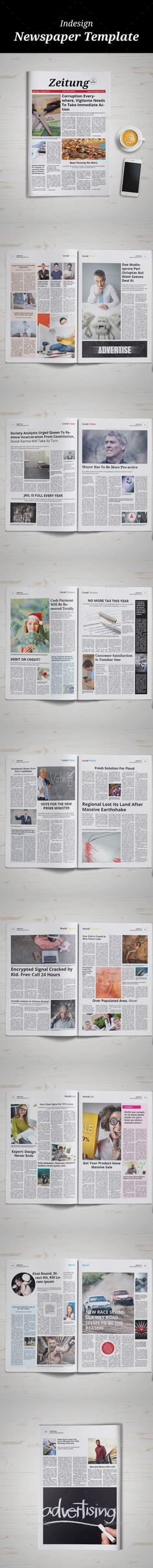 102 Best Newspaper Newsletters Print Templates Images On