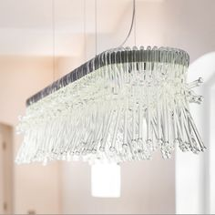luminaire originally designed for a house in Madrid, now produced by Mawa Design/ isabeh Hamm licht Glass Pendants, Chandelier, Decor, House, Glass, Home, Bespoke Lighting, Home Decor, Ceiling Lights