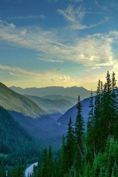 From Loveland Pass looking toward Keystone ski resort (Colorado) by James Brown