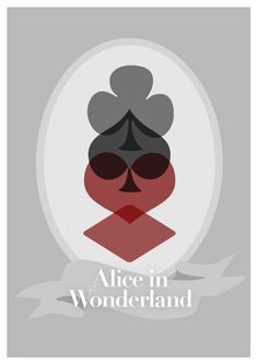 Disney's Alice in Wonderland Minimalist Poster