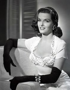 "silver-screen-glamour: "" Jane Russell. """