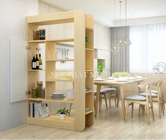 Can use the shelves as a partition Indian Living Rooms, Home Living Room, Living Room Designs, Living Room Partition Design, Room Partition Designs, Simple Furniture, Furniture Layout, Apartment Furniture, Home Decor Furniture