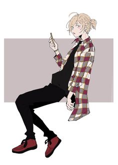 yurio being damn fashionable in any collaboration outfit – buy me a coffee? Yuri On Ice, Art Reference Poses, Drawing Reference, Character Drawing, Character Concept, ユーリ!!! On Ice, Yuri Plisetsky, Cute Anime Guys, Anime Boys