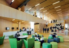2015 Australian Interior Design Awards Interior Design Impact Ravenswood School for Girls by BVN Education Architecture, Architecture Awards, Interior Architecture, Building Architecture, Acoustic Architecture, Australian Interior Design, Interior Design Awards, Learning Spaces, Learning Environments