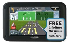Magellan RoadMate 5230T-LM 5-Inch Navigator with Lifetime Maps and Traffic - For Sale
