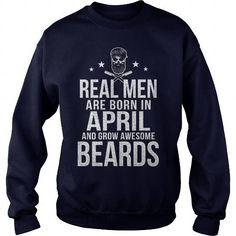 I Love REAL MEN GROW BEARDS T shirts