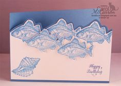 A Crafty Cat - Stampin' Up! By the Tide