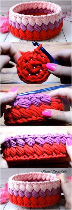 Learn To Crochet Beautiful Basket