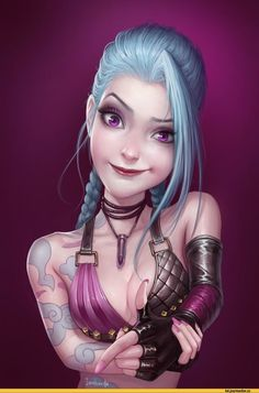 Jinx,League Of Legends