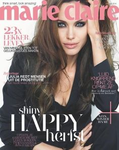 Marie Claire Netherlands October 2014 | Angelina Jolie by Patrick Demarchelier #Covers2014 #Angelinaolie