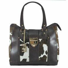 Olha que luxo ficou esta bolsa com estampa vaca malhada. A Fellipe Krein está arrasando em sua nova coleção!  Gostou? Clique na imagem e compre em nossa loja Virtual!!!