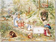 Murales de Beatrix Potter