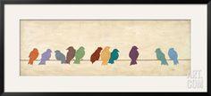 Birds Meeting, by Patricia Quintero-Pinto