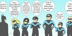 Everyone wants to be nightwing, even Alfred  XD