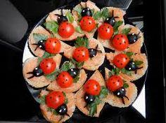 Imagini pentru retete aperitive Cocktails For Parties, Bruschetta, Pork Recipes, Feel Good, Appetizers, Thanksgiving, Gluten Free, Vegetables, Eat