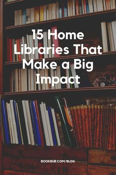 """Here are some beautiful small home libraries sure to make you think, """"Hey, I can do that!"""" #books #homelibrary #bookshelves Small Home Libraries, Reading Nook Kids, Beautiful Small Homes, Library Inspiration, Nook Ideas, Book Nooks, Great Books, Bookshelves, Book Lovers"""