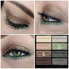 Spring Green Eye Wet N Wild Comfort Zone Palette Look