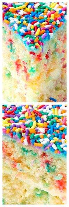 Funfetti Vanilla Layer Cake