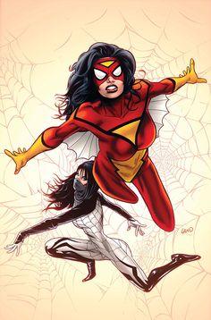 Spider-Women   #comics #marvel #spiderwoman