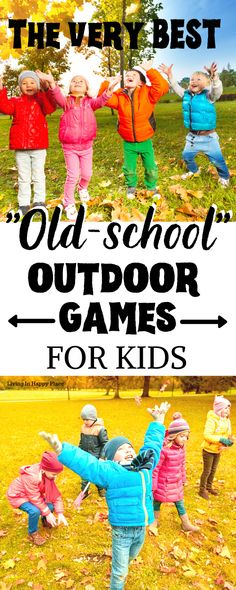 The best old outdoor games for kids! - Outdoor kids activities from your own childhood! All the best outside games to play in the yard! Summer Party Games, Birthday Party Games For Kids, Birthday Parties, Summer Fun, Birthday Ideas, Backyard For Kids, Backyard Bbq, Backyard Parties, Yard Games For Kids