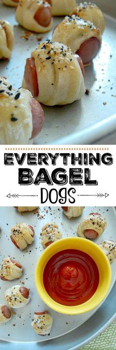 Everthing Bagel Dogs