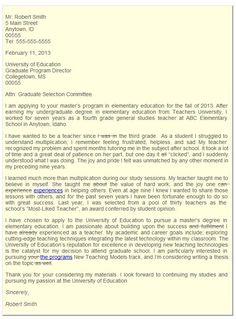 letter of intent grad school samples