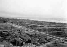 Вид с крыши Сталинградского элеватора 1942г.