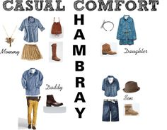What to Wear - family photos fall 2012 - Casual Comfort Chambray - by The sTORIbook
