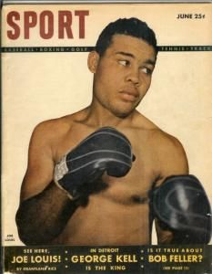 Vintage SPORT Magazine JOE LOUIS on cover JUNE 1948