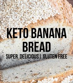 Keto Cloud Bread - Easy Low Carb Burger Buns, Essentially Carb Free Gluten Free Low Carb Bread Recipe, Lowest Carb Bread Recipe, Keto Bread, Keto Bagels, Healthy Banana Muffins, Healthy Banana Bread, Dinner Recipes For Kids, Healthy Dinner Recipes, Healthy Foods