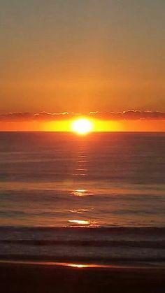 Sun rise in Ocean City, Maryland. ♥♥♥♥