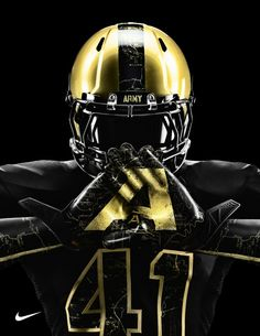 Base layers for the Navy and Army football uniforms by Nike . Army Navy Football, Sports Football, Football Is Life, Football Gloves, Football Jerseys, Football Helmets, Sports Jerseys, Football Fans, Football Season