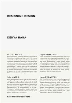 Akiko Fukai:Speaks to the essentials of all design.
