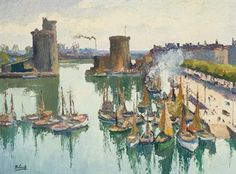 Gaston Balande - Port de Honfleur