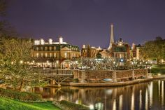 Epcot France | Epcot: France at Night (Explored) | Flickr : ... | Disney Pictures