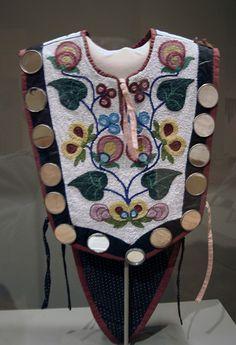 American Indian bead work